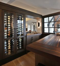 #grothouseinc #winebar #bartops #customwoodcountertops #woodcountertops #grothousethings #stephanielafferty Countertop Options, Wood Countertops, Plain City Ohio, Bar Tops, Contemporary Style Homes, Custom Cabinetry, Wood Bars, Interior Decorating