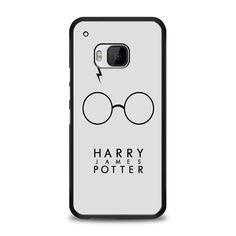 Harry James Potter glasses HTC One M9 Case | yukitacase.com