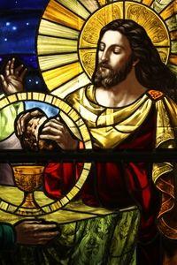 Emmaus ~ Pickel Studio for Sts. Anne & Joachim Catholic Church, Fargo, North Dakota