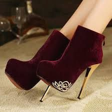 Fashion high-heeled shoes sexy platform thin heels female stiletto boots  autumn and winter women s shoes boots 1bc0e9a53a