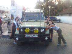 In prearazione al safari!!!