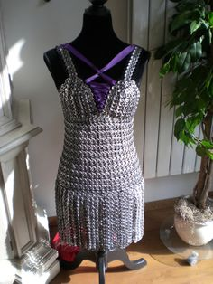 pop tab dress