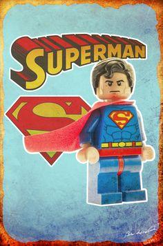 Vintage Lego Superheroes | marenkramer