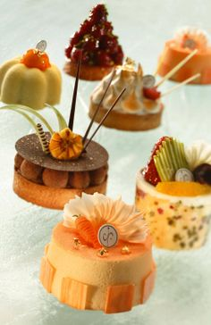Various patisserie