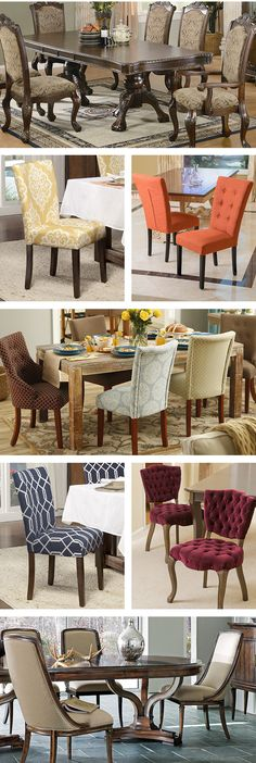 Your dining room is one of the most important rooms in your home. You can pair comfortable and luxurious leather chairs with wooden tables to make an elegant statement in a more traditional dining room. Visit Wayfair and sign up today to get access to exclusive deals everyday up to 70% off. Free shipping on all orders over $49.