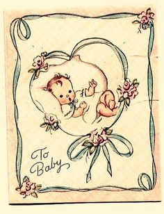 vintage baby card 4