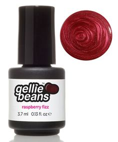 This Raspberry Fizz Gel Nail Polish by gelliebeans is perfect! #zulilyfinds