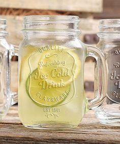 Look at this 'Ice Cold Drink' Mason Jar Mug - Set of 12 on #zulily today!