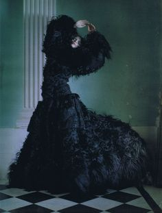 'Dreaming of Another World', Guinevere van Seenus by Tim Walker, Vogue Italia March 2011.
