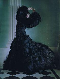 Wonderful!!! 'Dreaming of Another World', Guinevere van Seenus by Tim Walker, Vogue Italia March 2011.
