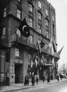 Hotelli Seurahuone (Seurahuone-Socis) Kaivokatu 12.  Sundström Olof 1935 Helsingin kaupunginmuseo.