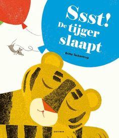 """""""Ssst! De tijger slaapt"""" Prentenboek van het jaar 2018. #PrentenBoekenTopTien2018 #NationaleVoorleesDagen2018"""