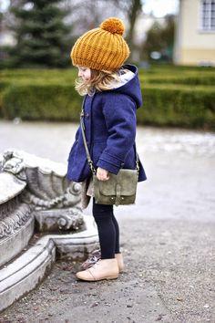 Navy blue & mustard | Vivi & Oli-Baby Fashion Life
