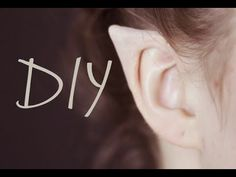 DIY Elf Ears + How to Apply Them - YouTube