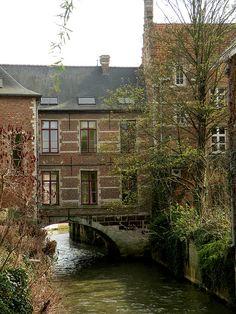 Sint Geertrui-abdij, Leuven, Belgium