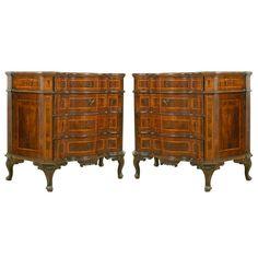 A Pair of Louis XV Venetian Commode | 1stdibs.com