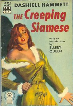 anything by Hammett, but this is one of my favorite pulp covers vintage pulp fiction