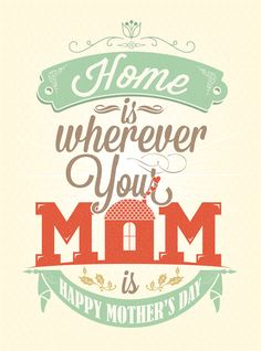 happy mothers day designs A Beautiful Collection of Mothers Day Typography
