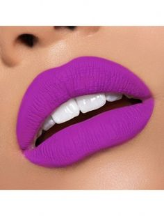 The New Summer Lip Kit from Kylie Cosmetics Summer Collection Vacation Edition Is the Bright Purple Matte June Bug Lip Kit. See the Lip and the Hand Swatches Right Here. You Can Buy the Collection on June 2017 from Kylie Cosmetics Website. Lipstick Art, Purple Lipstick, Lipstick Shades, Pink Lips, Lipstick Colors, Liquid Lipstick, Natural Lipstick, Lipstick Palette, Maybelline Lipstick