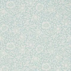 Mallow Wallpaper from Archive Collection V by Morris & Co. is a dusky pink wallpaper with a floral print of hibiscus in neutral, an elegant pattern in modern colours. Duck Egg Blue Floral Wallpaper, Dusky Pink Wallpaper, Floral Print Wallpaper, Fabric Wallpaper, Wallpaper Roll, Iphone Wallpaper, William Morris Wallpaper, Morris Wallpapers, Blue Wallpapers