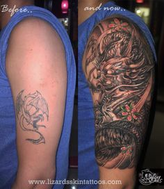 Cover up Dragon Tattoo