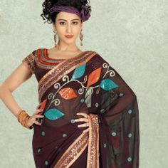 Brown Faux Georgette Embroidered Saree Rs. 3,550.00 Brown Faux Georgette Embroidered Saree  http://www.readyforshop.com/brown-faux-georgette-embroidered-saree.html#.Uw3VXuNdVe8 … pic.twitter.com/OWY5MFQNbP
