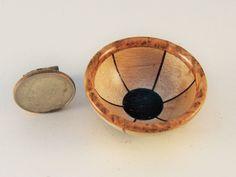 HW miniature turning maple/cherry burl/blackwood SEGMENTED bowl | eBay
