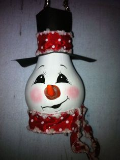 Christmas decorating ideas - 21 ways to reuse old light bulbs