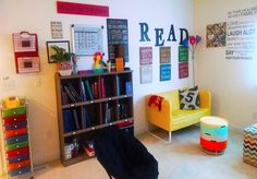 """Laurel Springs' 6th grader, Carl, had this to say about his learning space, """"I enjoy my space because it's vintage, eclectic, and fits with my learning style."""" #LSSCommunity #LearningSpace"""