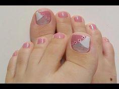 Ideas de uñas decoradas y sencillas #uñasdecoradaspiedras