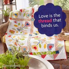 Love is the thread that binds us.