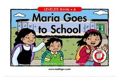 Free samples of books, wordless, in English, Spanish or French!  Great for Kindergarden reading or TPRS or just traditiona, writing exercises.  I need an account!  Maria Goes to School