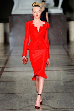 Zac Posen Fall 2012 – Vogue