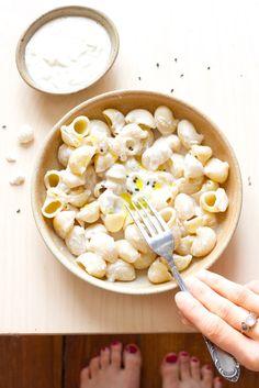 Sauce pour pâtes 3 - légumes à chair ferme (dans la recette : chou-fleur)