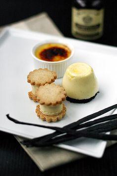 Beautiful vanilla dessert