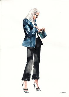 Kasiq fashion illustration series 5 on behance collage vintage, drawing style, fashion art, Fashion Art, Editorial Fashion, Girl Fashion, Fashion Design, Style Fashion, Human Figure Sketches, Figure Sketching, Illustration Art Nouveau, Watercolor Fashion