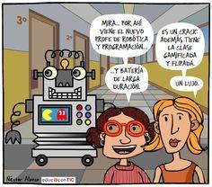 """""""Peleando con las TIC"""": Robótica con un toque de humor"""