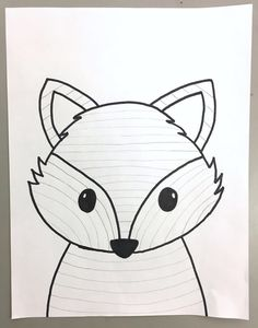 SPRINGTIME BUNNY, BEAR OR FOX! Grade – Art with Mrs Filmore How adorable are these? This lesson took art classes to finish (and I had JUST enough time to squeeze in one more lesson before the end of the year)! It's a simple one —but packs in a bunch! Bear Template, Bunny Templates, Drawing Templates, Art 2nd Grade, Third Grade, 2nd Grade Crafts, Art Fox, Arte Elemental, Fox Drawing