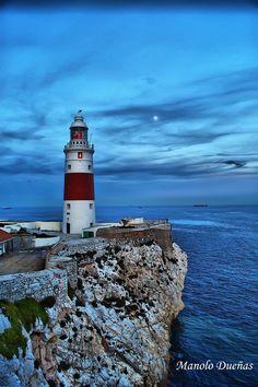 #Lighthouse - #Faro de Gibraltar - #Gibraltar http://dennisharper.lnf.com/