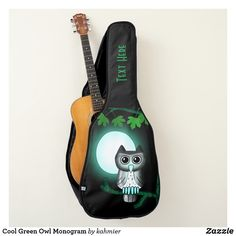 Cool Green Owl Perso