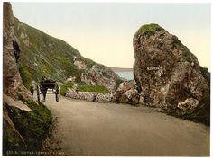 Kennedy's Pass, Girvan, Scotland circa 1890