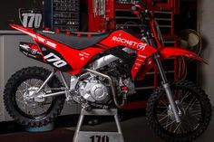 CRF110 2019-2020 | Rocket Exhaust Stainless Steel Welding, Pit Bike, Honda Motorcycles, Exhausted, Carbon Fiber, Hand Tools, Vehicles, Mini