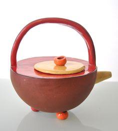 Ceramic Teapot 600 ml by ElenaLukatskyArt on Etsy