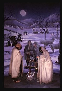 In my middle readers novel, Stone Man's Lair, a family flees the Cherokee Trail of Tears. ctsuddeth.com
