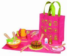 14ee92f42c04 House of Toys - 460171 - Jeu d Imitation - Ma Dinette en Bois  Amazon.fr   Jeux et Jouets