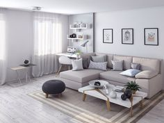 Awesome small living room designs are readily available on our internet site. Modern Furniture Living Room, Modern Room, Small Living Room Design, Living Room Furniture, Apartment Furniture Layout, Trendy Living Rooms, Apartment Living Room, Minimal Living Room, Living Room Furniture Layout