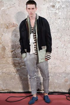 See the complete Haider Ackermann Spring 2015 Menswear collection.