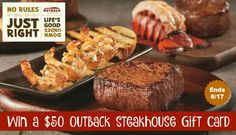 Welcome to our $50 Outback Steakhouse Gift Card Giveaway! If you love Steak and Outback Steakhouse, you will want to enter this giveaway - DAILY! Calling all steak lovers! Together with my blogger friends we want to treat you to a sumptuous meal at one of...