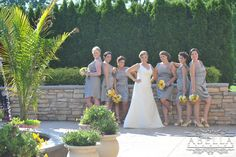 6 bridesmaids. :)