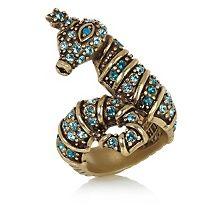 "Heidi Daus ""Prince of the Sea"" Crystal Ring"